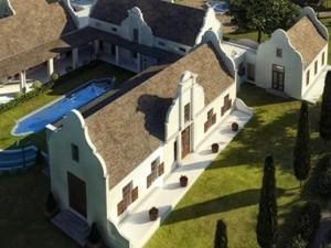 Modern cape dutch style architecture for Cape dutch house plans